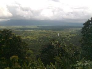 Gunung Sahari diambil dari salah satu tebing