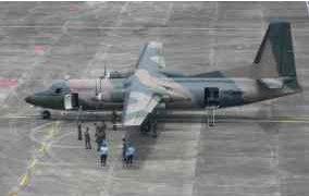 pesawat Fokker 27 Sesaat Sebelum Terbang dan Terjatuh